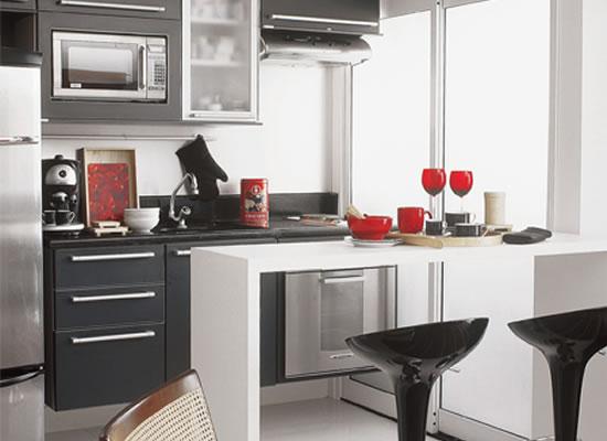 603028 Ideias para cozinhas pequenas 5 Cozinha pequena: cuidados ao decorar