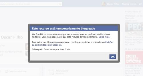 603707 facebook for bloqueado o que fazer 2 Facebook for bloqueado: o que fazer