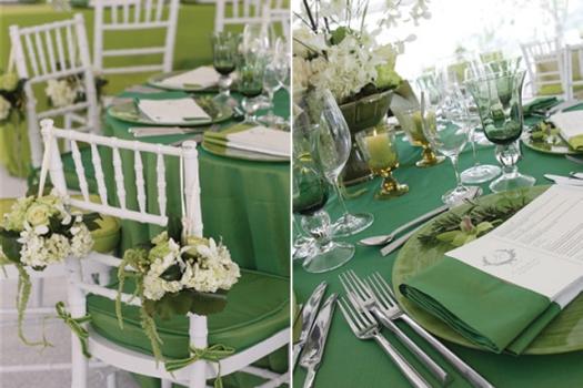 603871 Casamento em verde e branco decoração 4 Casamento em verde e branco: decoração