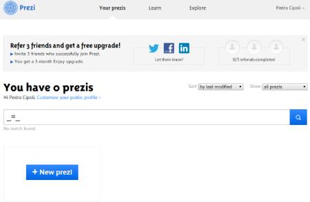 603982 prezi software online para fazer slides 3 Prezi: software online para fazer slides