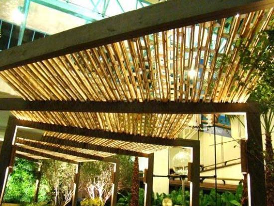 decoracao muros jardim:604119 decoracao de jardim com bambu 4 Decoração de jardim com bambu
