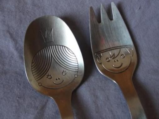 604578 A simpatia do garfo e da colher é uma excelente opção. Foto divulgação Simpatias para saber sexo do bebê: dicas
