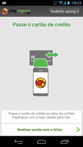 604770 leitor de cartao de credito para celular pagseguro 1 Leitor de cartão de crédito para celular PagSeguro