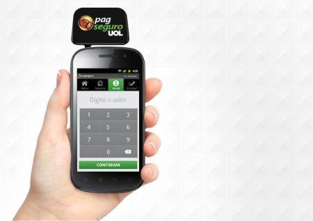 604770 leitor de cartao de credito para celular pagseguro Leitor de cartão de crédito para celular PagSeguro