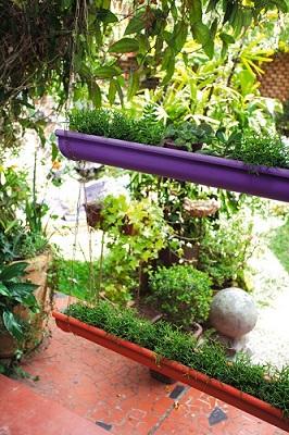 605727 Calhas usadas para jardim Passo a Passo 06 Calhas usadas para jardim: Passo a Passo