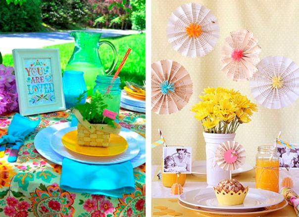 606831 Decoração de festa para o dia das mães Dicas 9 Decoração de festa para o dia das mães: Dicas