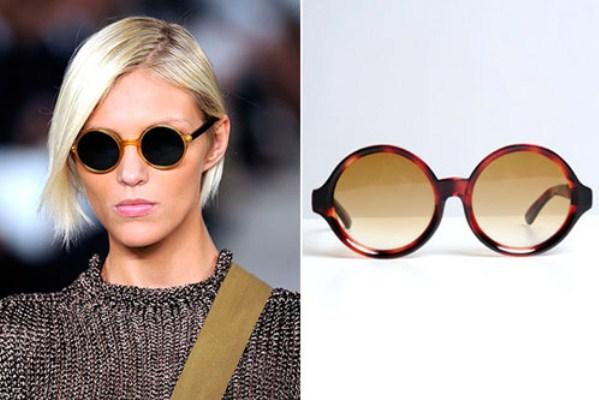 e9191f2812383 TABLOIDE A.E.S.C. MAMAÔ  Óculos de sol redondo feminino O óculos de ...