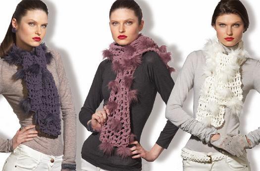 611825 Cachecol inverno 2013 modelos 2 Cachecol inverno 2013, modelos