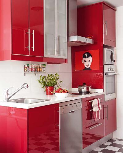 611853 Cores fortes na cozinha dicas.2 Cores fortes na cozinha: dicas