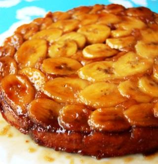 612158 Receita de bolo de banana caramelada 2 Receita de bolo de banana caramelada