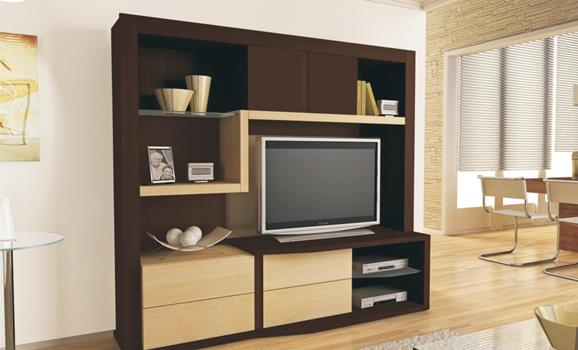 612548 Modelos de estantes para sala de estar 7 Modelos de estantes para sala de estar