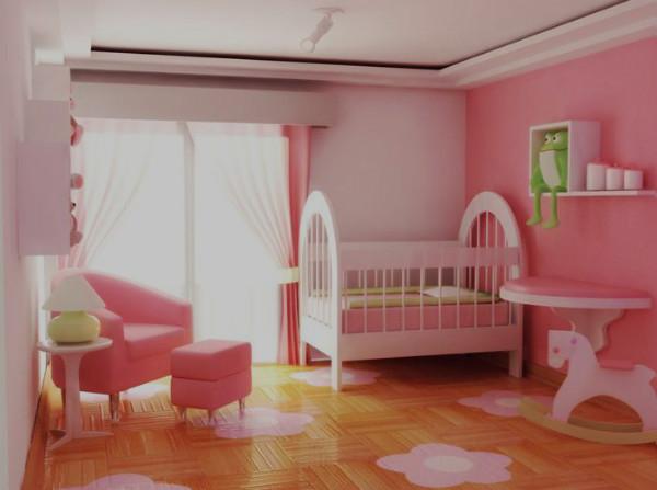 Cortinas para quarto de bebê feminino dicas, fotos ~ Tinta Rosa Quarto