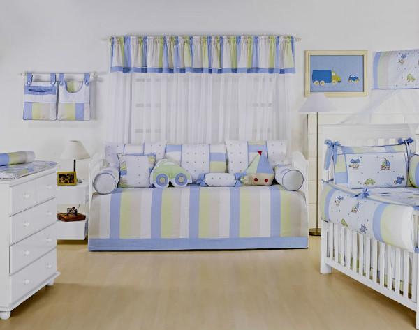 612722 Cortinas para quarto de bebê masculino dicas fotos 4 Cortinas para quarto de bebê masculino: dicas, fotos