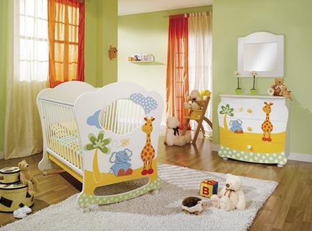 Tapetes para quarto de bebê masculino