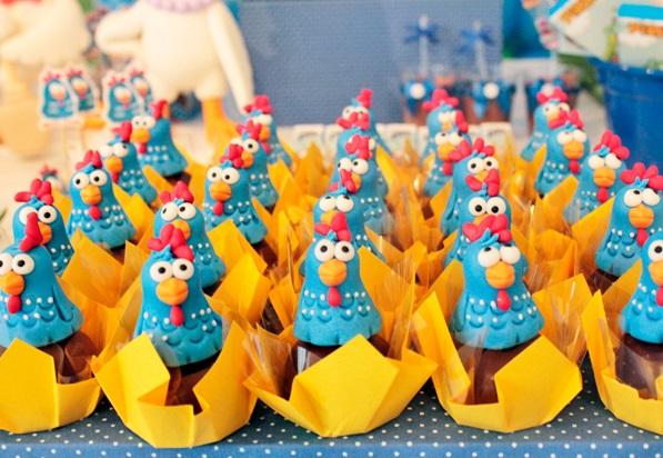 613926 Enfeites para a festa de aniversário da Galinha Pintadinha 3 Enfeites para a festa de aniversário da Galinha Pintadinha