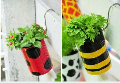 614204 Jardim com latas recicláveis Dicas 0002 Jardim com latas recicláveis: Dicas