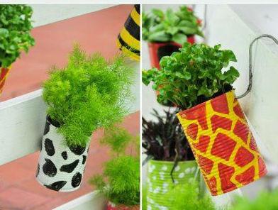 614204 Jardim com latas recicláveis Dicas 0004 Jardim com latas recicláveis: Dicas