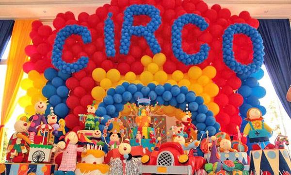 614746 festa infantil 1 ano circo 01 Temas de festa infantil masculino