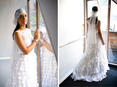 615150 Vestido de noiva de renda renascença Vestido de noiva de renda renascença