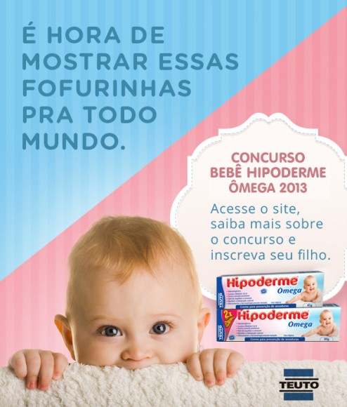 617354 concurso bebe hipoderme omega 1 1 Concurso Bebê Hipoderme Ômega 2013