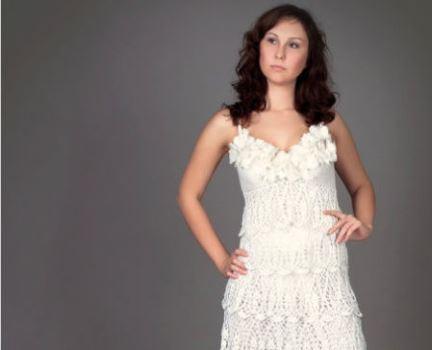 619772 Vestido de noiva de crochê fotos dicas 7 Vestido de noiva de crochê: fotos, dicas