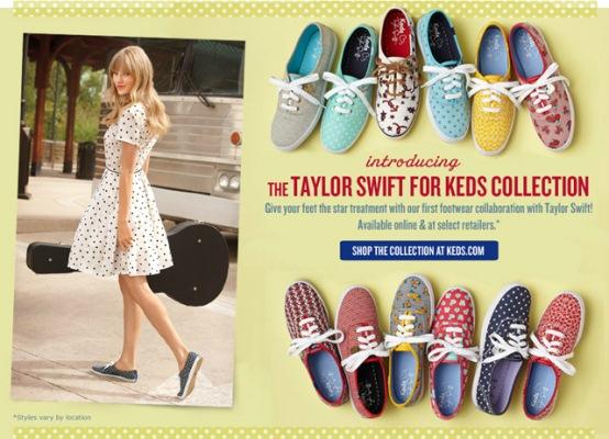 620262 Tênis Keds Taylor Swift no Brasil.2 Tênis Keds da Taylor Swift no Brasil