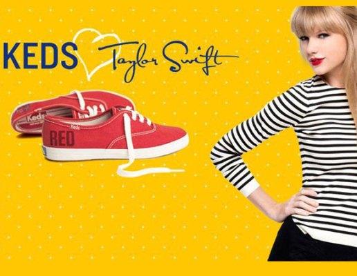 620262 Tênis Keds Taylor Swift no Brasil.3 Tênis Keds da Taylor Swift no Brasil