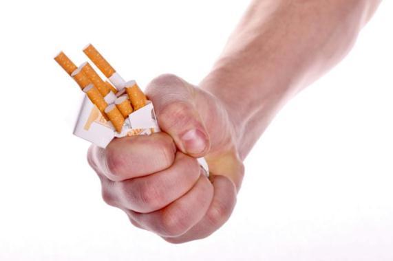 620662 O tabagismo é um dos fatores de risco do infarto agudo do miocárdio. Foto divulgação Fatores de risco do infarto agudo do miocárdio
