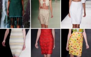 Modelos de saia, tendências verão 2014