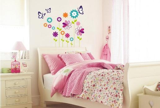 624616 Adesivos decorativos quarto de menina dicas onde comprar 2 Adesivos decorativos, quarto de menina: dicas, onde comprar