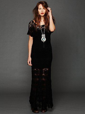 624910 Vestidos longos de crochê 4 Vestidos longos de crochê: fotos, dicas para usar