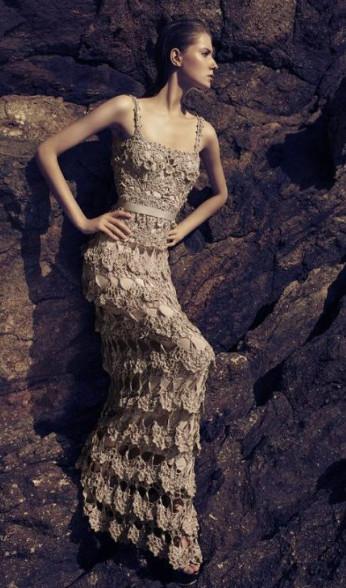 624910 Vestidos longos de crochê 8 Vestidos longos de crochê: fotos, dicas para usar
