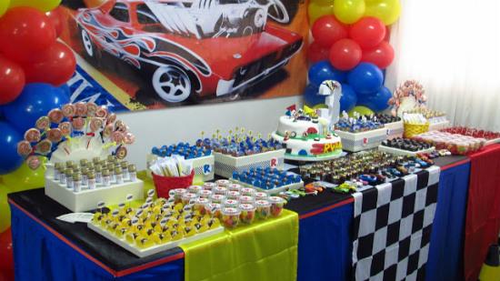 625011 Decoração de festa Hot Wheels 1 Decoração de festa Hot Wheels