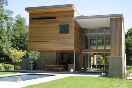 627 casa com fachada minimalista Fotos de Casas