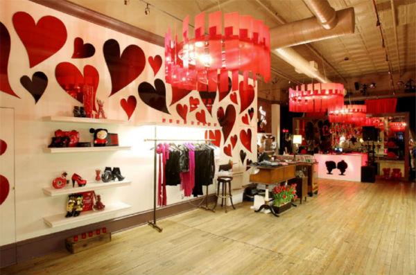 decoracao interiores de lojas:Decoração de loja dia dos namorados dicas 2 Decoração de loja