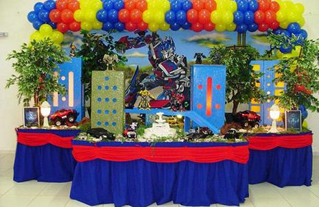 627839 Decoração de festa infantil Transformers 1 Decoração de festa infantil Transformers