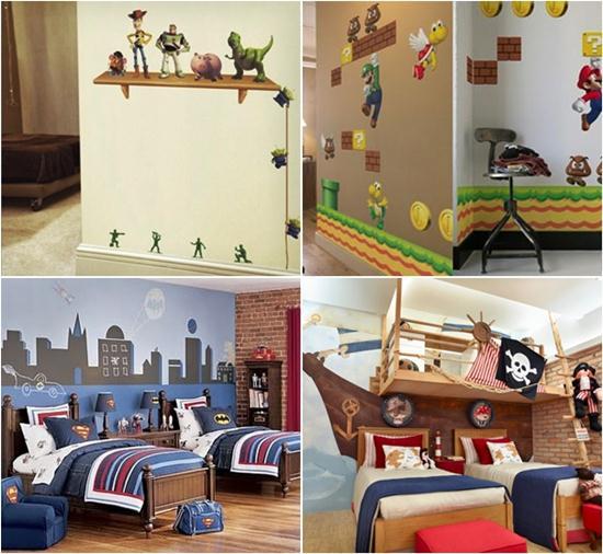 628147 papel de parede para quarto de meninos dicas 1 Papel de parede para quarto de meninos, dicas