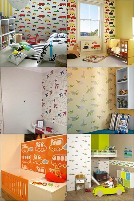 628147 papel de parede para quarto de meninos dicas 2 Papel de parede para quarto de meninos, dicas