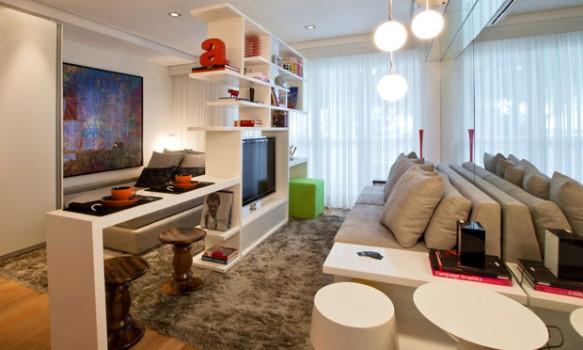 Decora o para apartamento pequeno dicas for Modelos de apartamentos pequenos