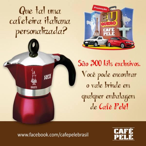 632082 promocao eu quero cafe pele 3 Promoção Eu Quero Café Pelé