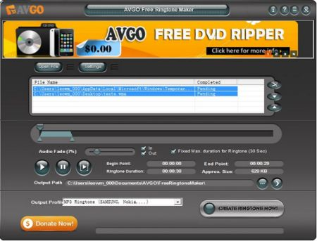 free ringtone maker download baixar 2 600x600 AVGO Free Ringtone Maker