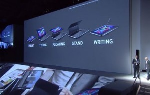 Novos tablets da Samsung com Windows