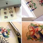 63595 facil de fazer e indolor 150x150 Tatuagens Temporárias Adesivas Para o Corpo