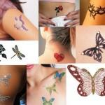 63595 vários modelos femininos 150x150 Tatuagens Temporárias Adesivas Para o Corpo