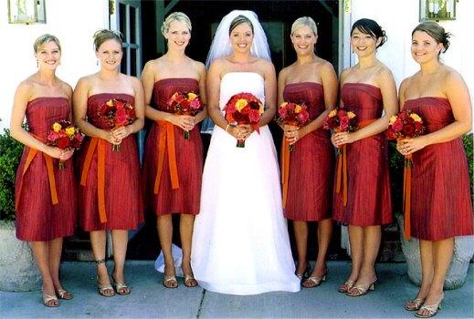 636443 Damas de honra adultas dicas de vestidos fotos 5 Damas de honra adultas: dicas de vestidos, fotos