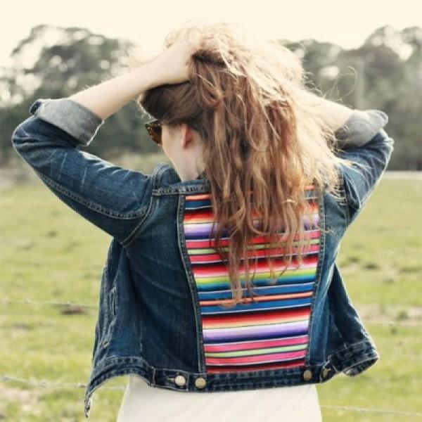 636562 Como customizar jaquetas jeans dicas fotos.3 600x600 Como customizar jaquetas jeans: dicas, fotos