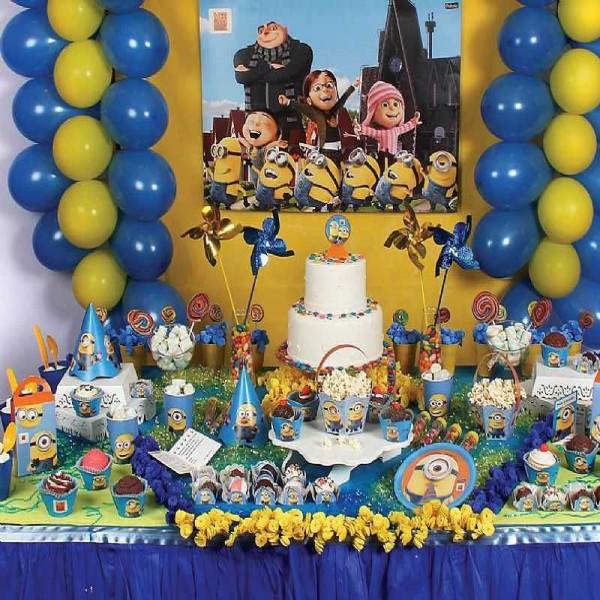 638897 Decoração de aniversário Meu Malvado Favorito 1 600x600 Decoração de aniversário Meu Malvado Favorito