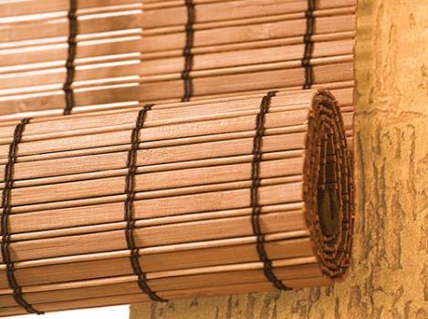 Cortinas de bambu dicas para usar - Cortinas rusticas para casa rurales ...