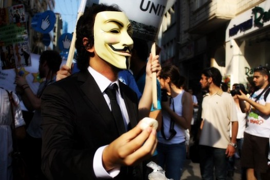 640401 Máscara Guy Fawkes V de Vingança o que significa 1 Máscara Guy Fawkes V de Vingança: o que significa