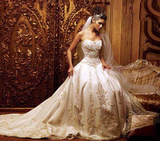 641563 Os vestidos de noiva estilo princesa caem muito bem. Foto divulgação Vestido de noiva tipo princesa: dicas, fotos